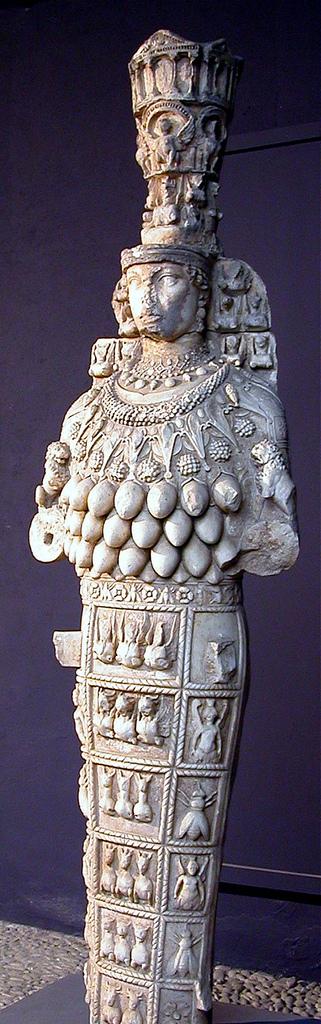 Artemis  Museo de Éfeso