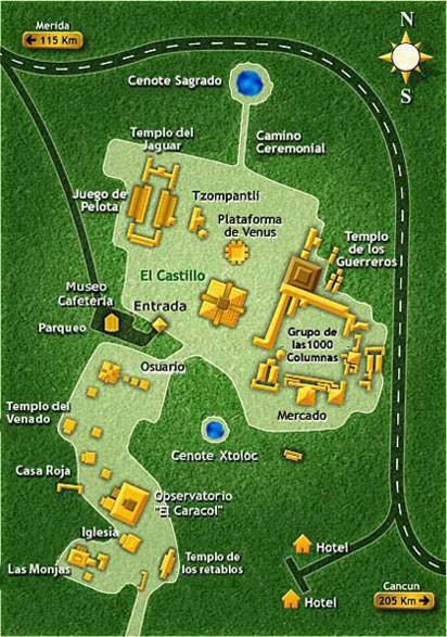 mapa chichen 00