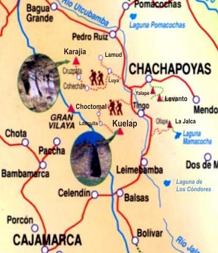 MapaChachapoyas