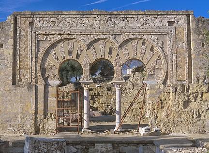 Portada occidental de la Vivienda de la Alberca Medina Azahara TA