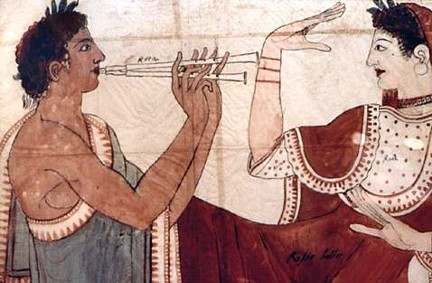 Etruscan Tomb Tarquinia