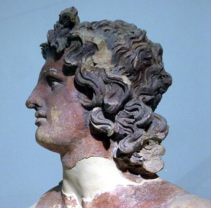Apollo-Helios sec IV III aC Roma museo di Villa Giulia TerraeAntiqvae