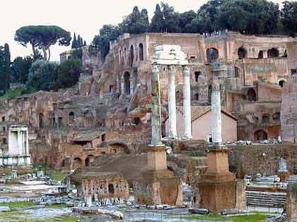 Hallan ruinas de época de fundación mítica de Roma