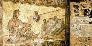 "Mosaico romano descubierto en Libia, ""digno de Botticelli"""