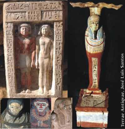 Arqueólogos hallan tumba de tutor de Pepi I, faraón de Egipto