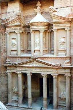 Petra. La Ciudad rosa del desierto