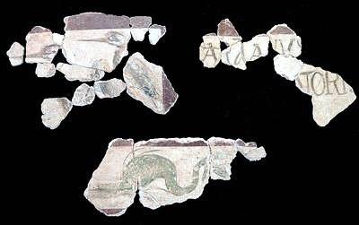 Valencia. Restauradas unas pinturas romanas del siglo I que exaltan la mayoría de edad