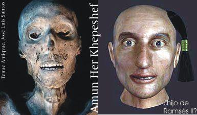 Egipto. Descubren una calavera en el Valle de los Reyes que pudo ser del hijo primogénito de Ramsés II