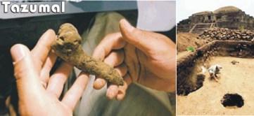 México. Encuentran más restos humanos en Tazumal