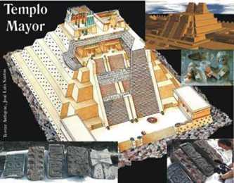 México. Presentan lápidas aztecas halladas en Templo Mayor